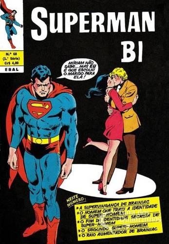superman bi - nº 60- 1º série ebal