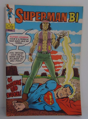 superman bimestral formatinho ebal - nº9 set.-out. 1978