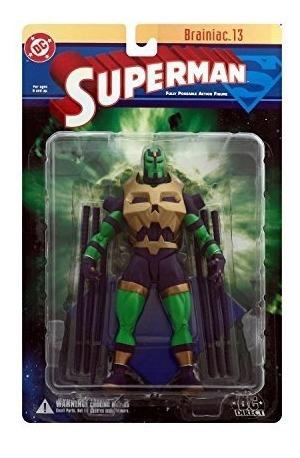superman: brainiac 13 figura de acción