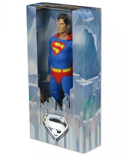 superman christopher reeves esc.1/4 45 cm neca lacrado