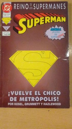 superman comic el reino de los supermanes #2
