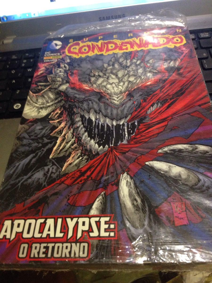 Superman Condenado Apocalypse O Retorno Ed 01 R 29 99