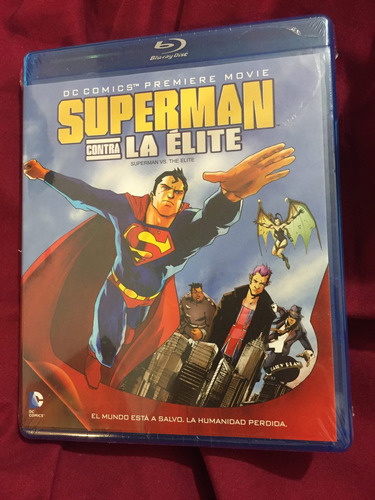 superman contra la elite dc animated universe nueva y sellad