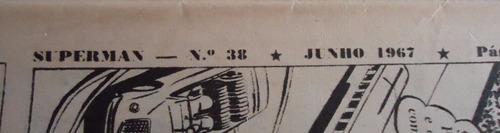 superman ebal- nº38 junho 1967 -by trekus vintage