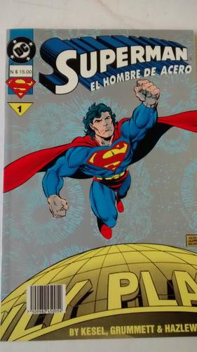 superman - el hombre de acero 1 - vid