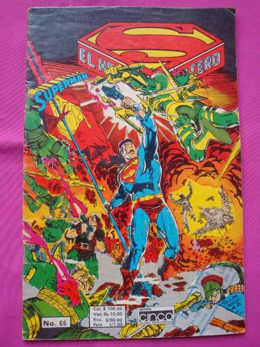 superman el hombre de acero n° 66 dc editorial cinco