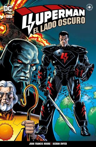 superman el lado oscuro - dc ecc comics - robot negro