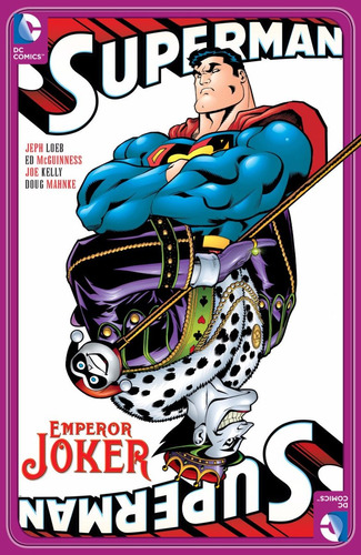 superman emperor joker edicion en ingles