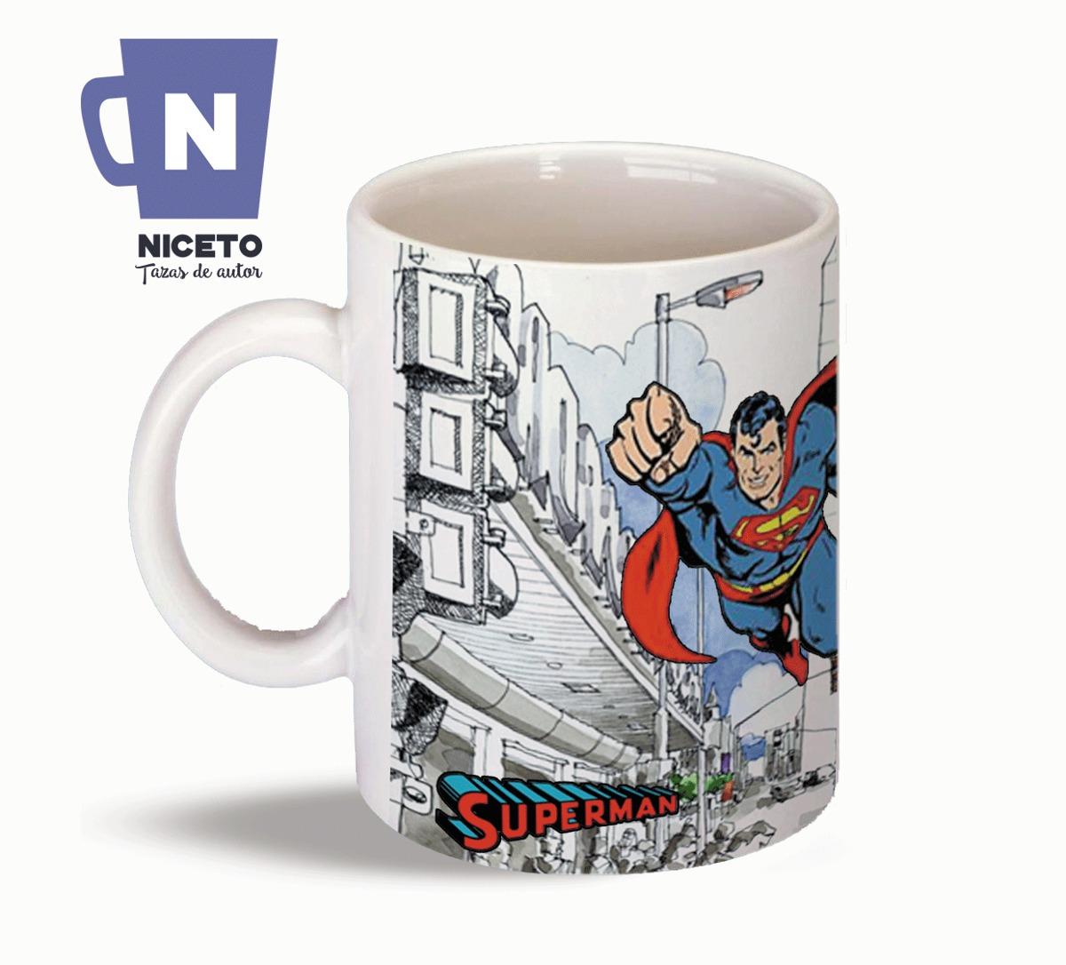 superman en buenos aires taza de diseño niceto. Cargando zoom. d21d86b0c2cc8