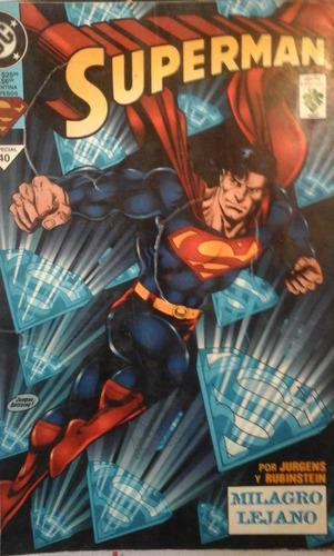 superman especial de 96 paginas   milagro lejano   edita vid