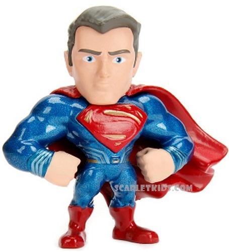 superman figura metals 6.5 cm justice league diecast dc jada