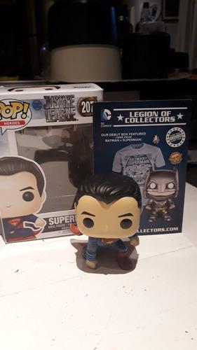 superman funko pop 207 justice league original