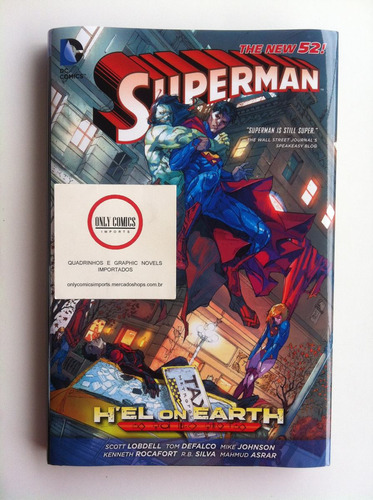 superman h'el on earth hc (2013) the new 52 - dc comics