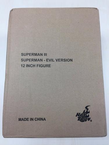 superman iii: superman evil ftoy fairs 2013  mms207 hot toys