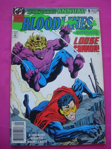 superman in action comics annual bloodines n° 5 1993