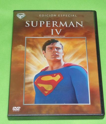 superman iv christopher reeve pelicula dvd original