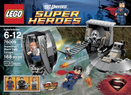 superman: la huída de black zero. edición lego super héroes