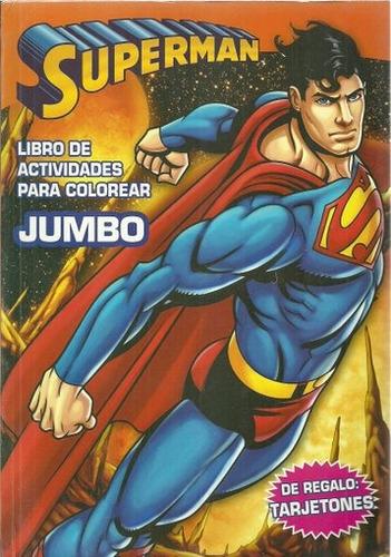 superman. libro para colorear - warner