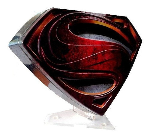 superman man of steel el hombre de acero bluray 3d escudo