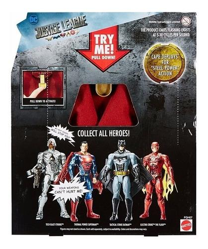 superman mattel electronico dc comic l justice league fgh10
