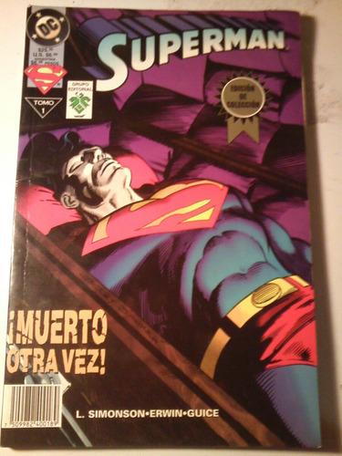 superman muerto otra vez comic -tomo 1