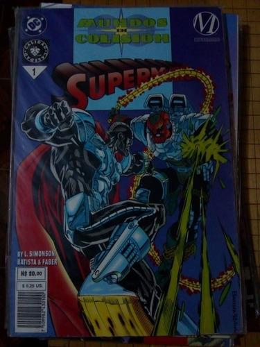 superman mundos en colision tomo 1 ed. vid