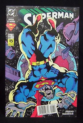 superman n° 12 especial 52 páginas dc comics ediciones zinco