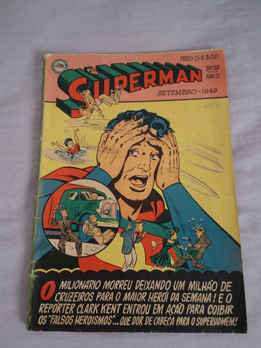 superman nº 23 1ª serie