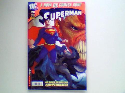 superman - nº 70 - panini