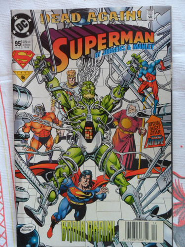 superman nº 95! ! americana! r$ 15,00!