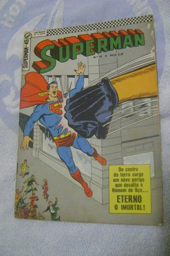 superman no.45 jan 68 ótimo leia!