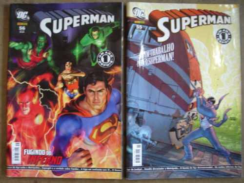superman nºs 30 ao 59 ed. panini anos 2005/07