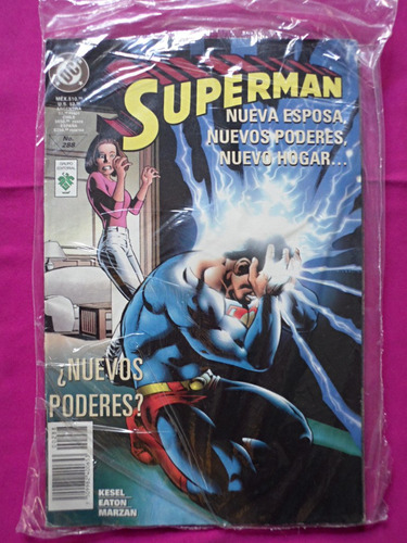 superman nuevos poderes n° 288 editorial vid dc