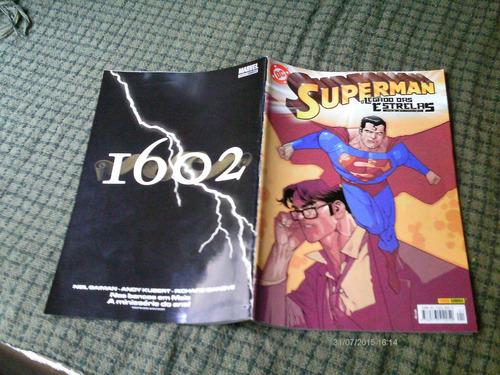 superman o legado das estrelas n. 1 - panini