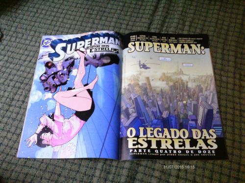 superman o legado das estrelas n. 2 - panini