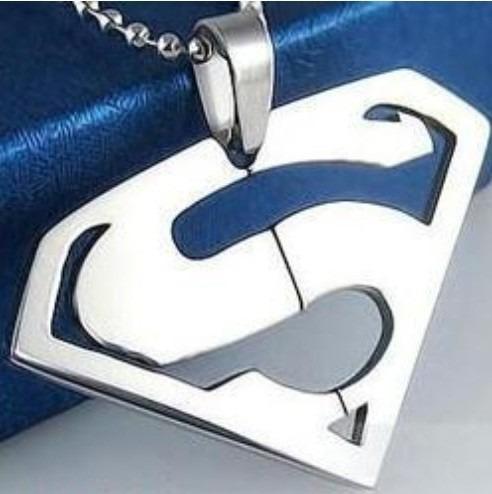 superman pingentes colares cordões para homens e mulheres