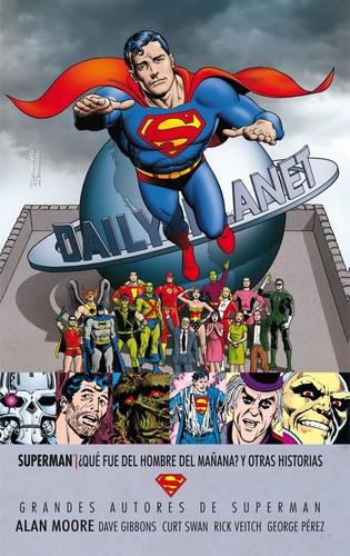 superman ¿qué fue del hombre..? - dc ecc comics robot negro