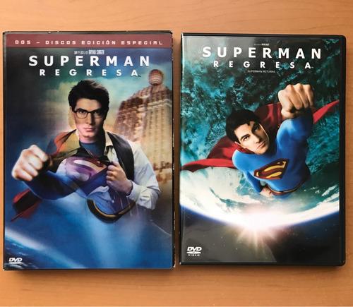 superman regresa, dvd. edición especial.