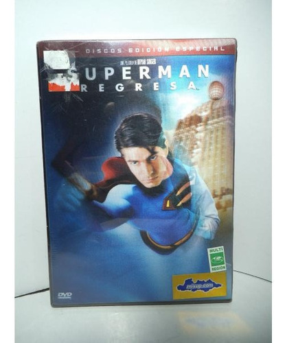 superman regresa edicion de 2 discos dvd original