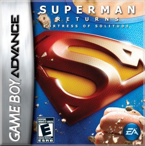 superman returns fortaleza de la soledad game boy advance