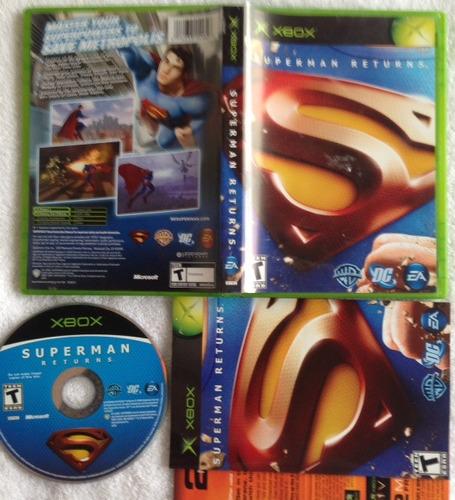superman returns - warner dc ea - completo - xbox