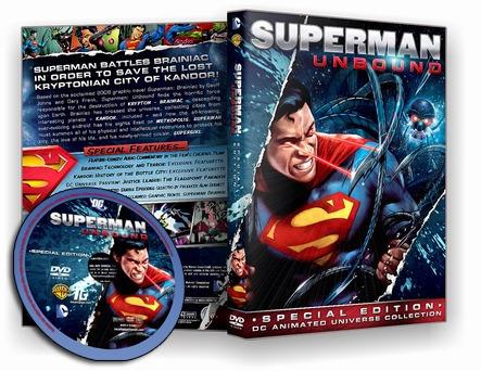 superman - sem limites (unbound) dvd