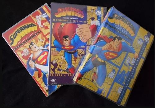 superman serie animada - box completo