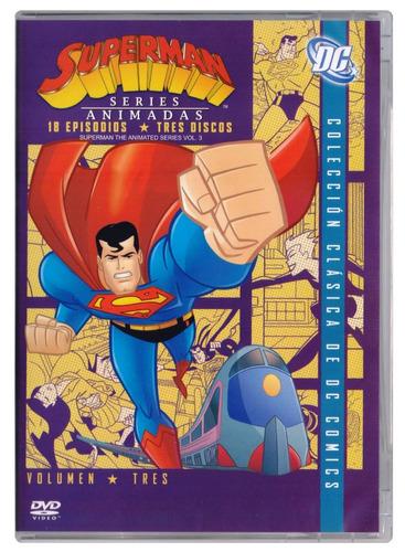 superman serie animada completa paquete 3 volumenes dvd