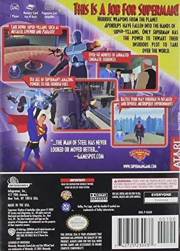 superman shadow of apokolips gamecube