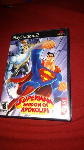 superman shadow of apokolips ps2