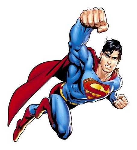 superman sticker adhesivo gigante arteygraficadigital