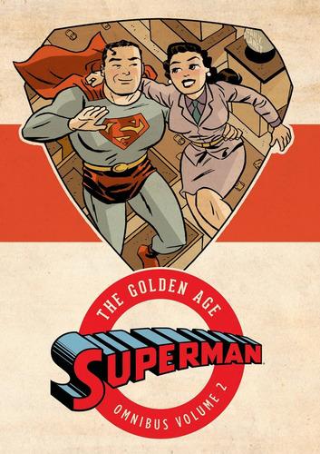 superman the golden age omnibus v.2 - dc comics robot negro