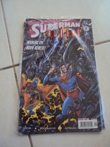 superman versus aliens 2 - 1 de 2 - mythos