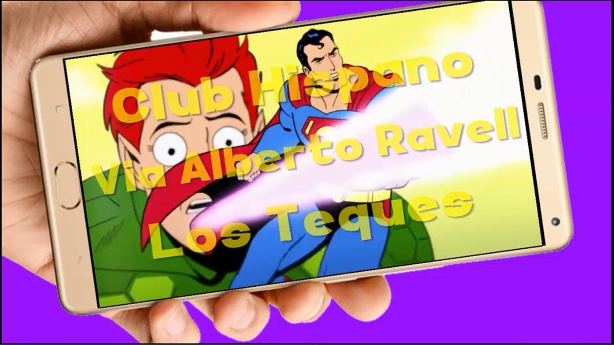Superman Video Tarjeta Invitación Cumpleaños Whatsapp Digita
